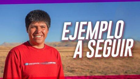 Teodoro, el joven que quiere revolucionar la ganadería de Puno