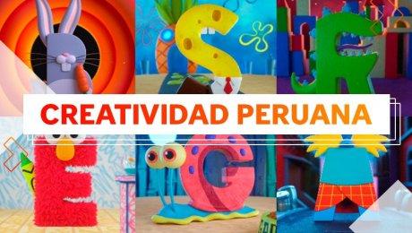 Tadeo Soriano, el diseñador peruano que creó un abecedario inspirado en dibujos animados