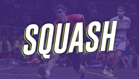 Squash, un deporte de interiores