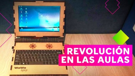 WAWA, la primera laptop eco-amigable hecha en Perú