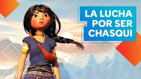 'Kayara' la película animada que cuenta la historia de una chica que sueña con ser chasqui