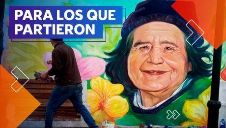Color Energía: estos artistas homenajean en murales a las víctimas de COVID-19