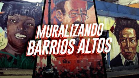 Muralizando Barrios Altos: El proyecto que pinta las calles del centro de Lima