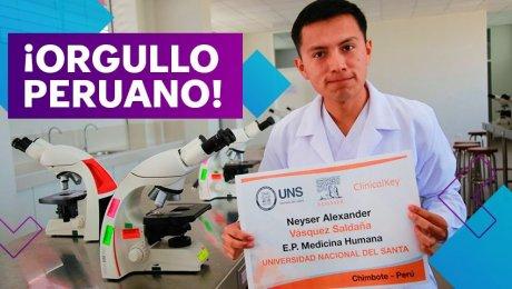 Uno de los mejores estudiantes de medicina del mundo es peruano