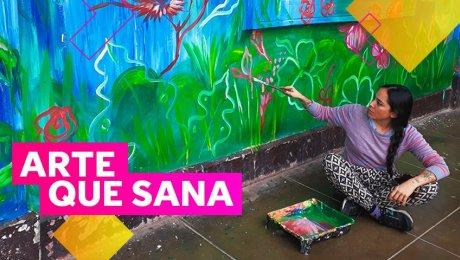 Pasito a paso: pintando una esperanza para los pacientes del Larco Herrera