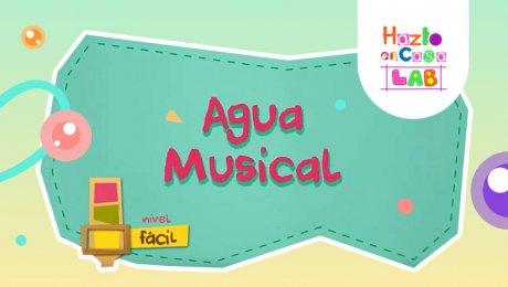 ¿Te imaginas poder hacer música con agua? Aprende cómo en este tutorial de Hazlo en Casa LAB