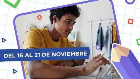 Aprendo en casa: esta es la programación del 16 al 21 de noviembre
