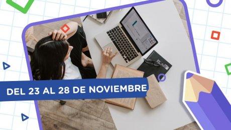 Aprendo en casa: esta es la programación del 23 al 28 de noviembre
