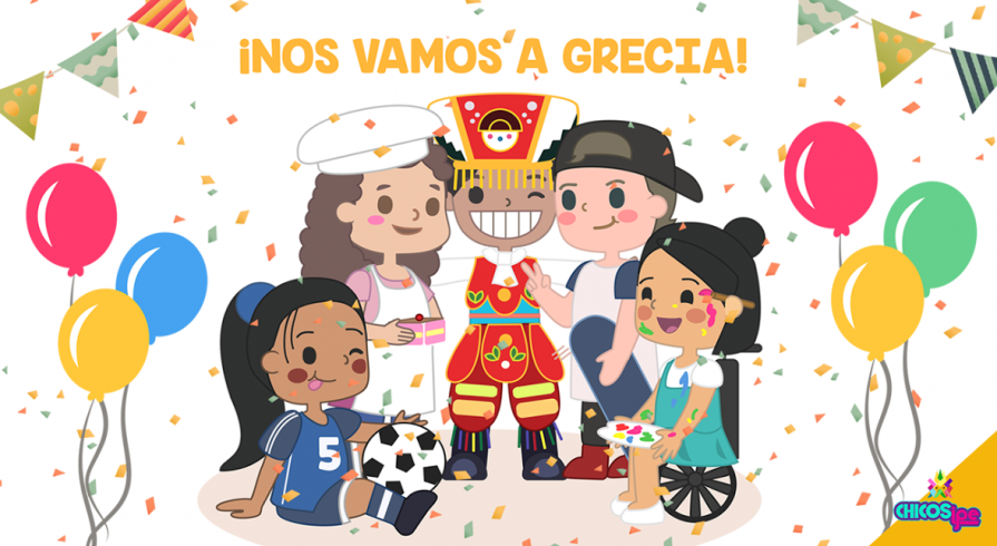 Chicos IPe en INPUT - Grecia 2017