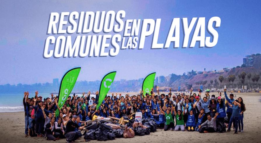 Estos son los residuos que más se encuentran cuando limpian playas peruanas