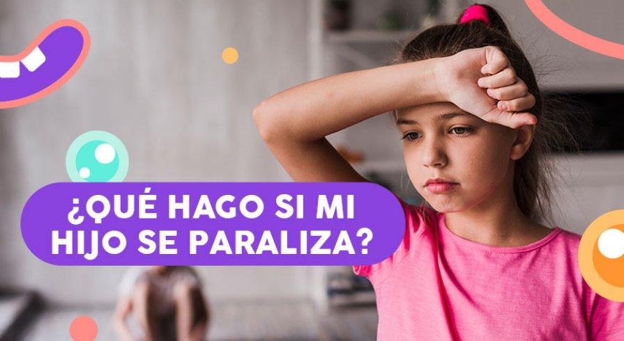Consejos para hacer frente a un ataque de pánico infantil