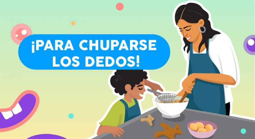 3 recetas de postres en taza para hacer con los chicos en un minuto