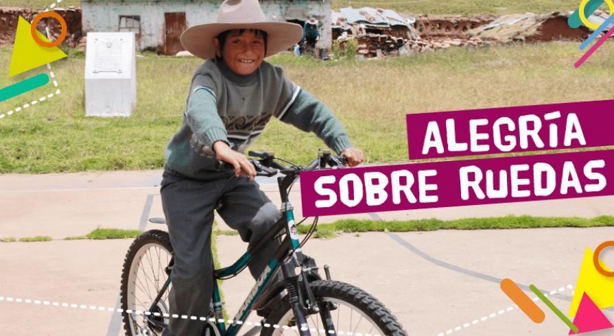 Bicicletas que ayudan