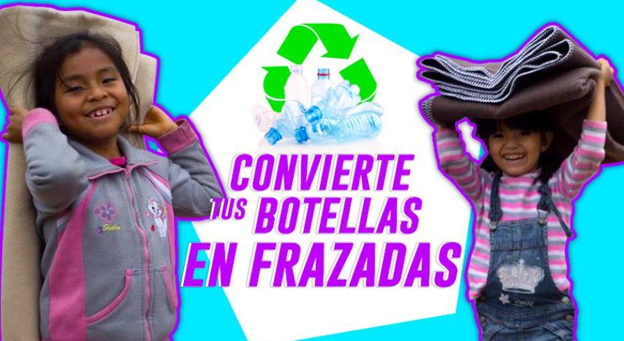 Tus botellas de plástico pueden ser frazadas polares en este invierno