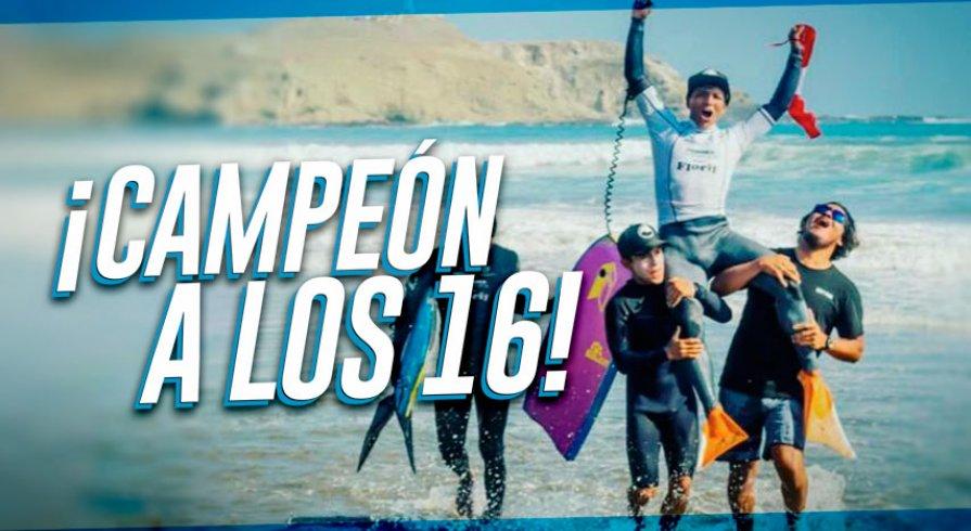 Cristopher Bayona, campeón latinoamericano con solo 16 años