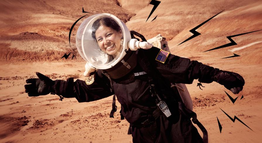 Jackelynne Silva Martínez, la ingeniera aeroespacial que sueña con ser astronauta