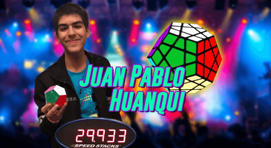 Peruano bate récord mundial en Megaminx