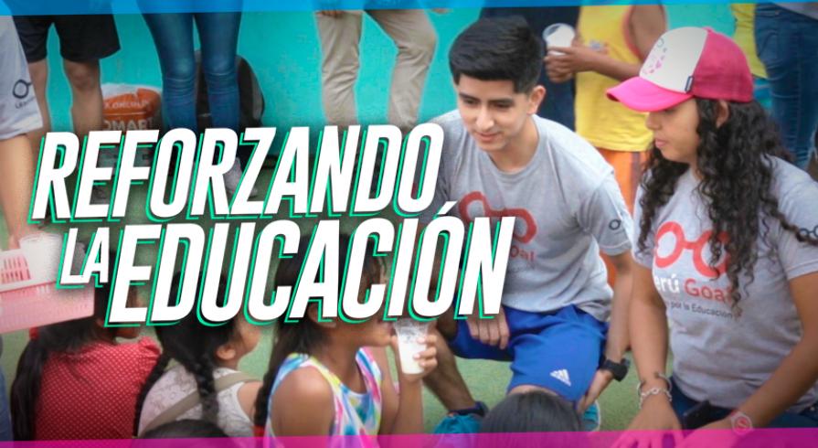 Acción Voluntaria: Perú Goal y la meta de tener una educación de calidad para todos