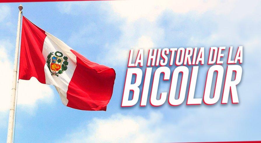 Un viaje por las banderas del Perú