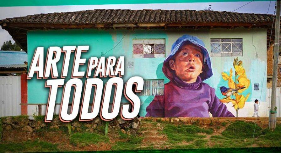 Despierta Pucará: las casas de Huancayo se llenan de color