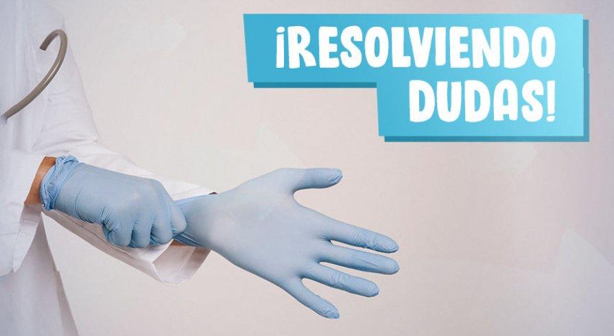 ¿Qué tan seguro es el uso de guantes para enfrentar al coronavirus?