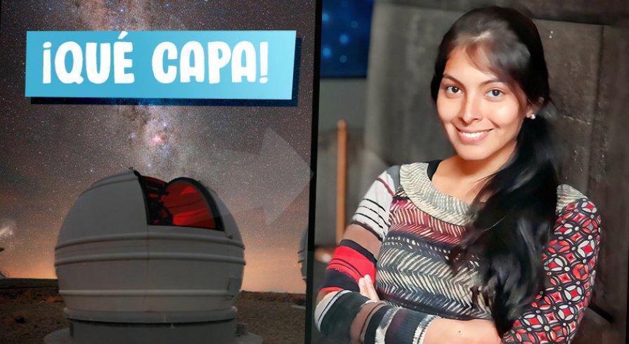 Gabriela Calistro Rivera: La astrofísica peruana ganadora de una beca por 25 mil dólares