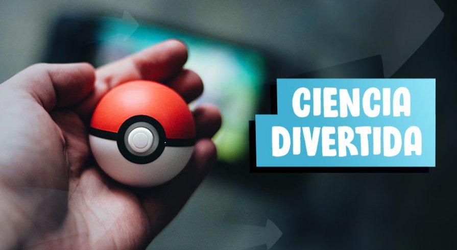 Ella nos enseña conceptos básicos de biología con Pokémon