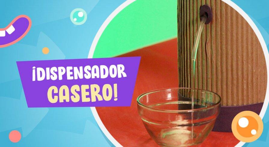 Hazlo en Casa LAB: Dispensador de agua