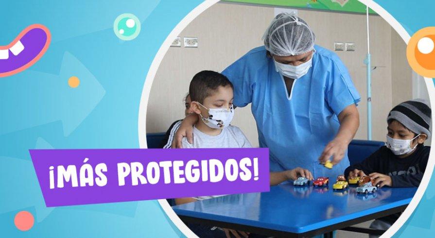 ¿Tu hijo es paciente oncológico? Así puedes cuidarlo del COVID-19