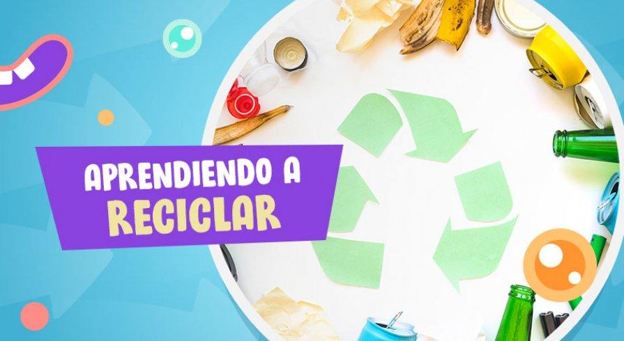 ¿Cómo podemos inculcar hábitos de reciclaje en los chicos?