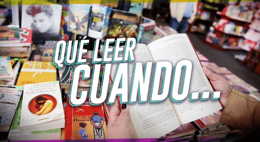 ¿Aún no sabes qué libro leer? Encuentra el libro ideal con esta lista