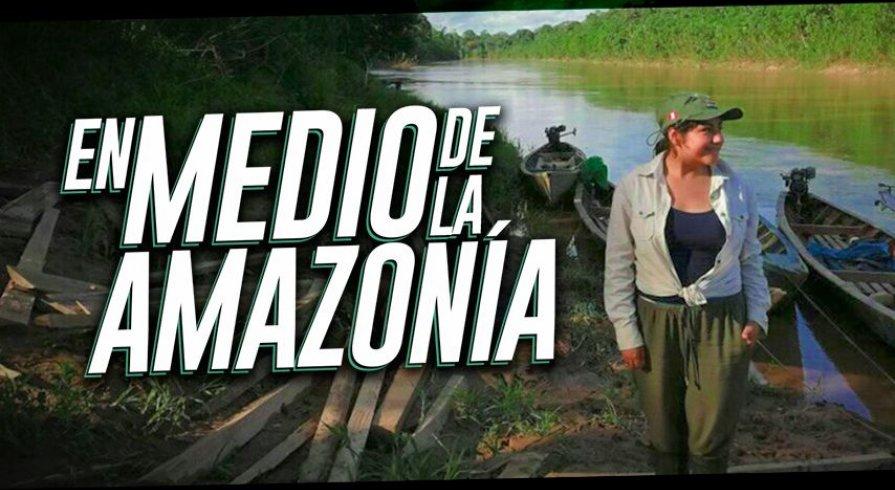 Esta joven se internó en la selva peruana para salvar a especies en peligro de extinción