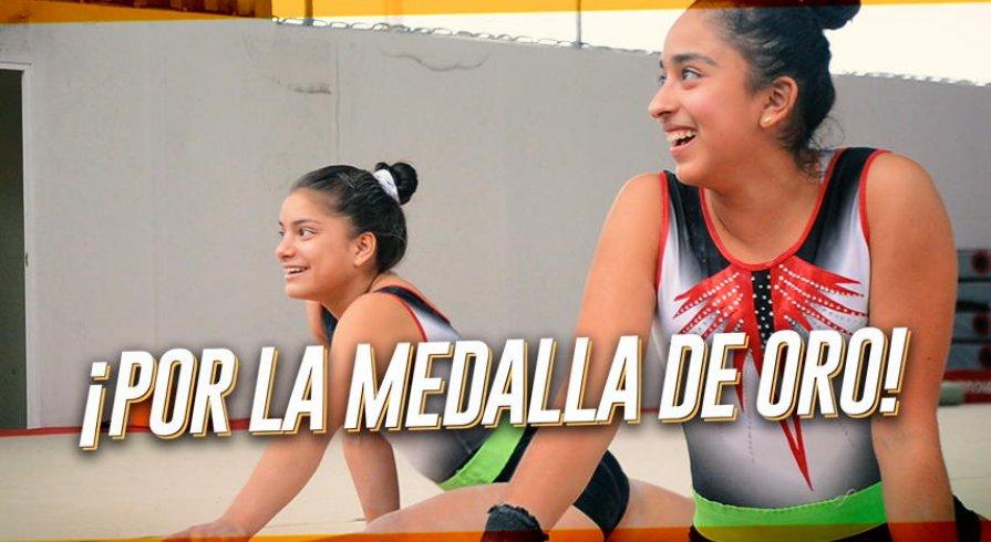 Dos gimnastas peruanas listas para llevarse el oro en los Panamericanos