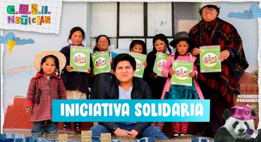 """""""Dona tu televisor"""": la campaña para ayudar a los chicos del distrito de Vinchos"""