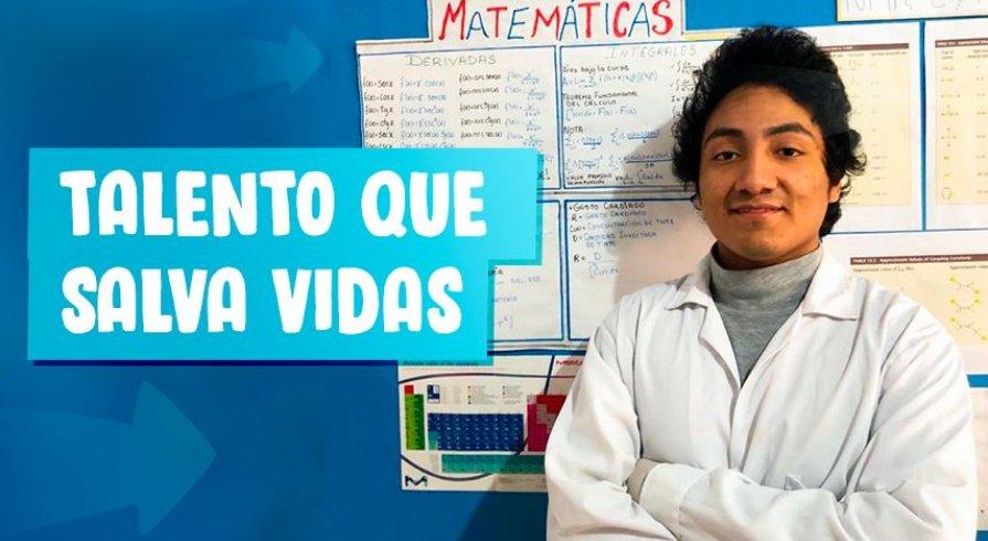Rubén Darío: el estudiante que ha conseguido salvar a los cultivos de las heladas