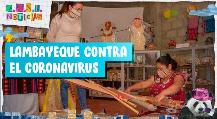 ¡Estas artesanas hacen mascarillas con el algodón que usó el Señor de Sipán!