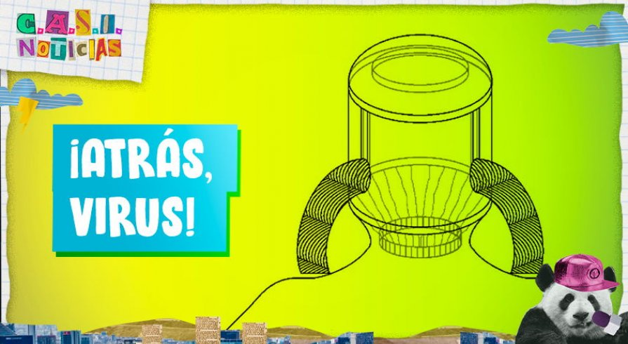 Este papá inventor ha diseñado un casco anticovid para evitar contagios