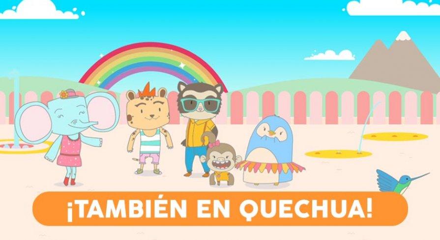 Los personajes de Ciudad Jardín también hablarán quechua