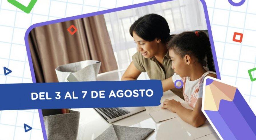 Aprendo en casa: esta es la programación del 3 al 7 de agosto