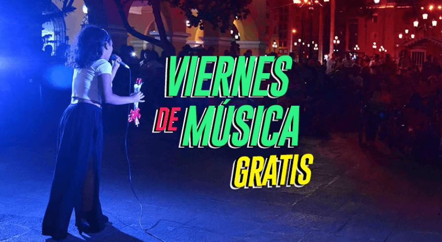 Viernes Culturales gratuitos en el centro de Lima