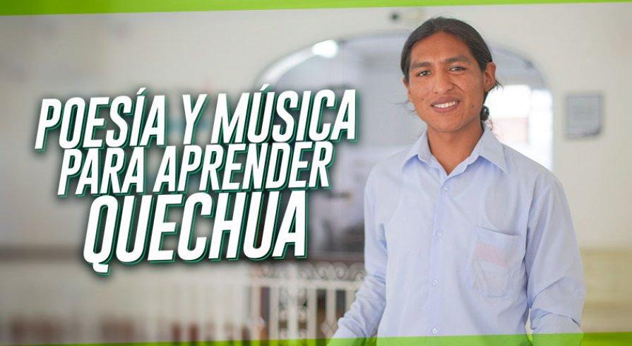 Poesía y música para aprender quechua