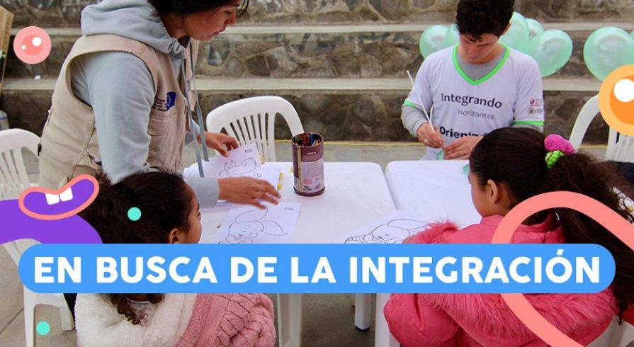 Cambiando la vida de los chicos venezolanos en Perú