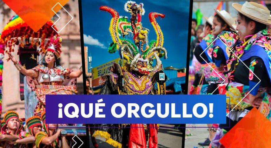 Estas danzas y costumbres son parte fundamental de nuestro folclor peruano
