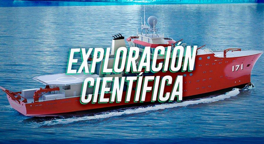 Conoce al buque peruano que realiza investigaciones científicas en la Antártida