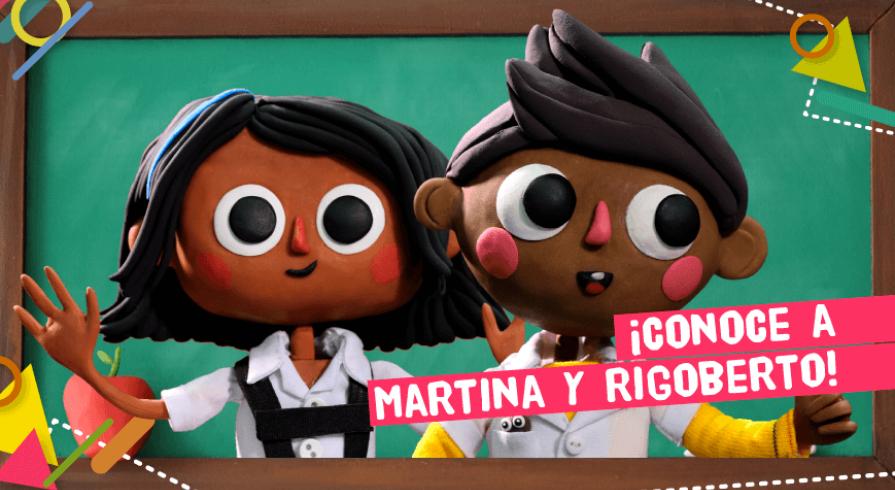¿Ya conoces a Martina y Rigoberto?