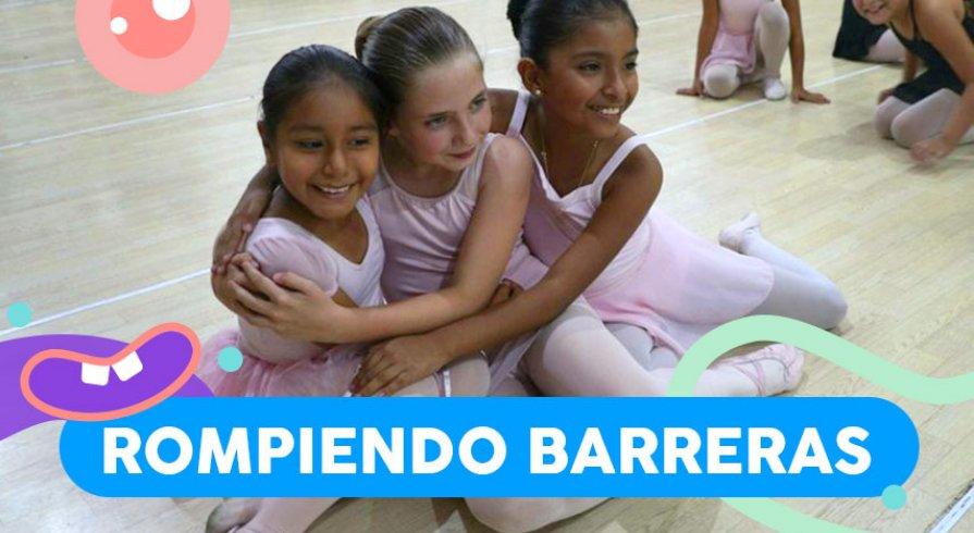Ella usa la danza como medio para cambiar la vida de niñas de bajos recursos