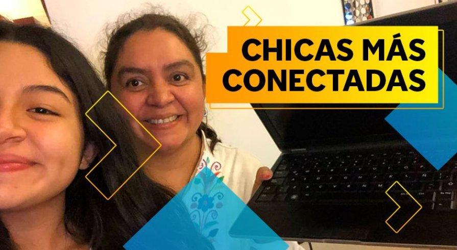Hermanas en Conexión: dona el celular o la laptop que ya no uses a activistas adolescentes