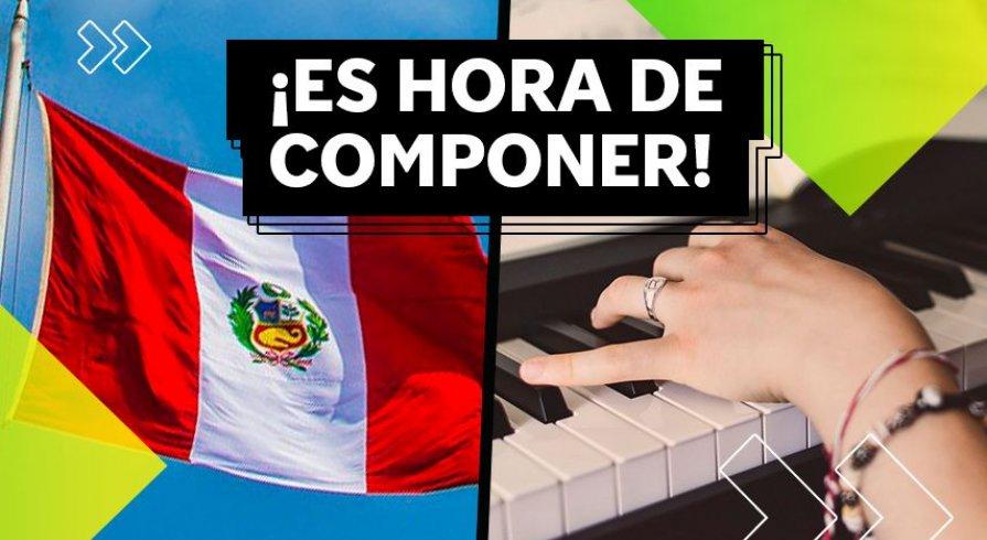 Tú puedes crear la música para el Himno del Bicentenario