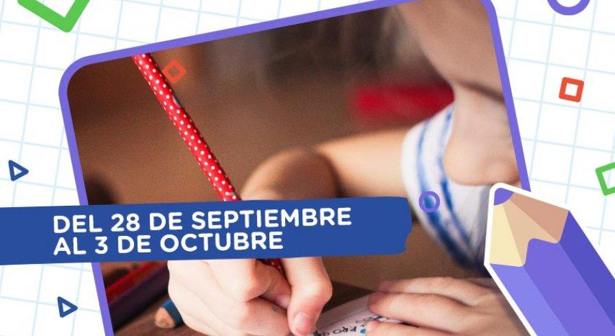 Aprendo en casa: esta es la programación del 28 de septiembre al 3 de octubre