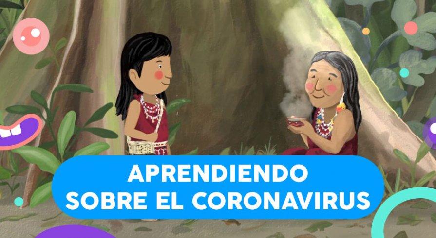 June y el Bosque, un cuento amazónico para prevenir la COVID-19